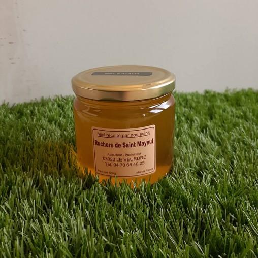 Pot de miel d'acacia en 500g