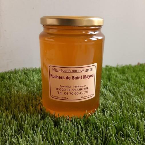Pot de miel d'acacia en 1kg