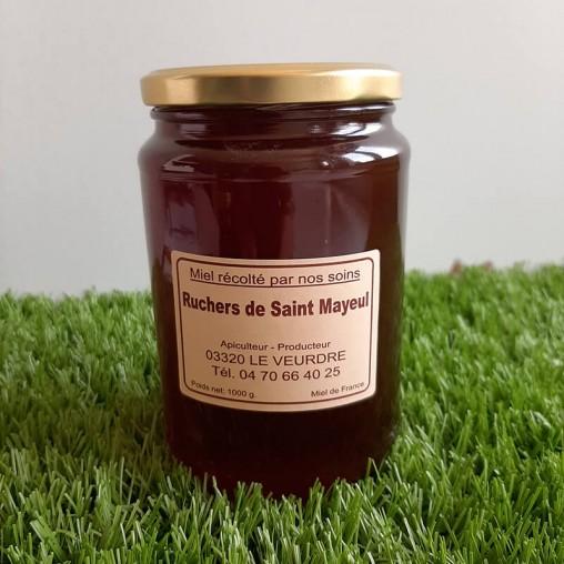 Pot de miel de Forêt en 1kg
