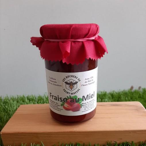 Confiture de fraises au...