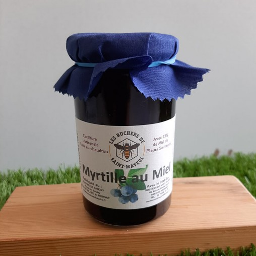 Confiture de myrtilles au...
