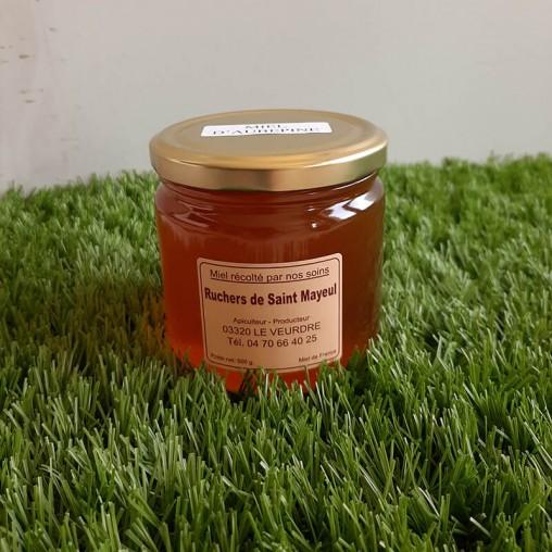 Pot de miel d'Aubépine en 500g