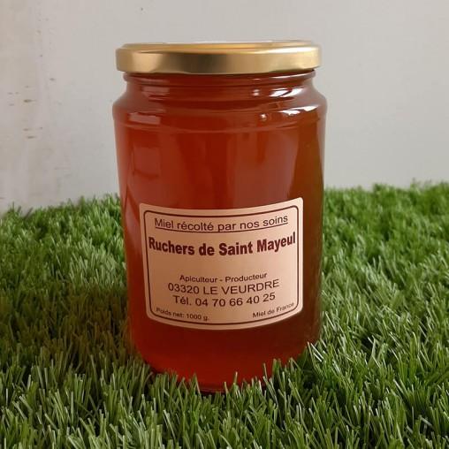 Pot de miel d'Aubépine en 1kg