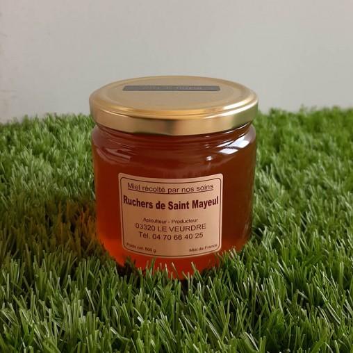 Pot de miel de Tilleul en 500g